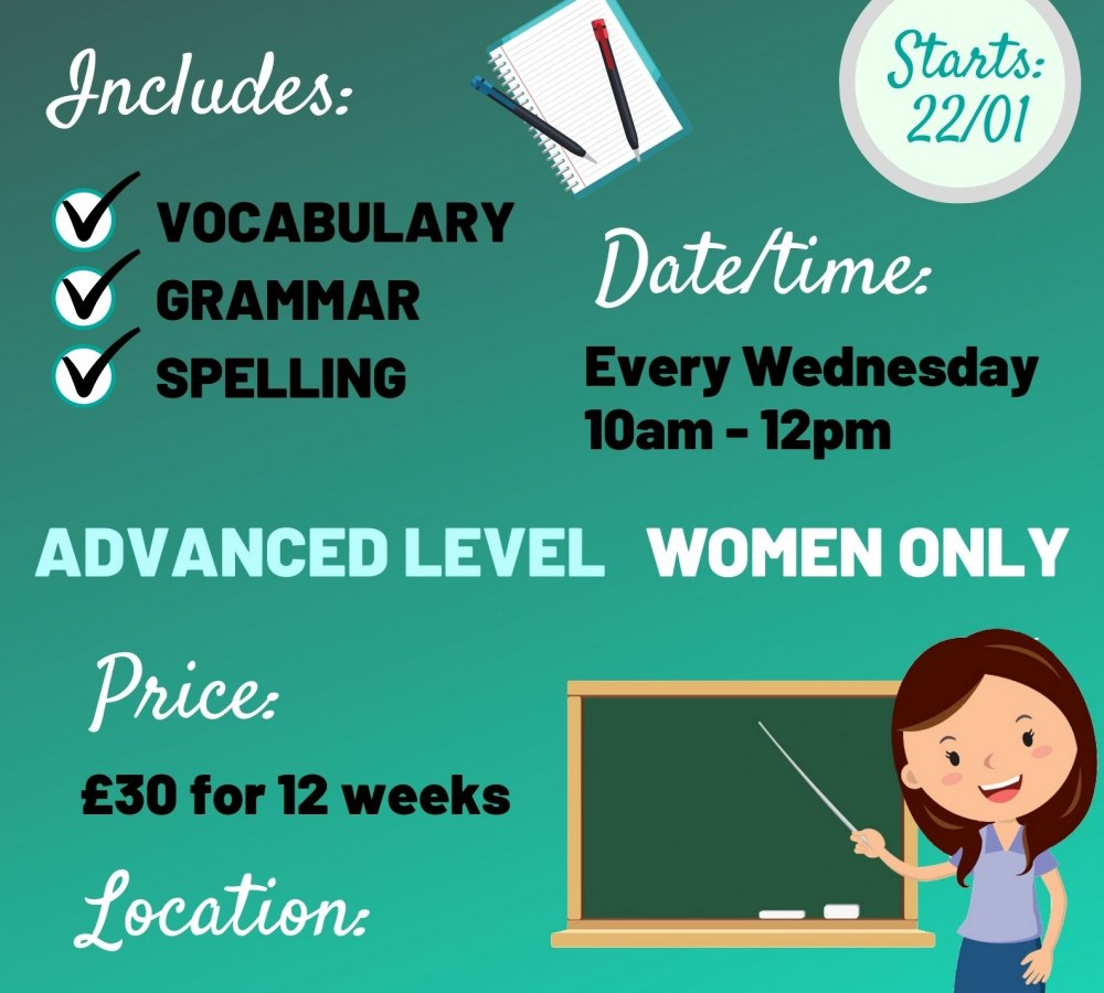 12 Weeks Advanced English Class