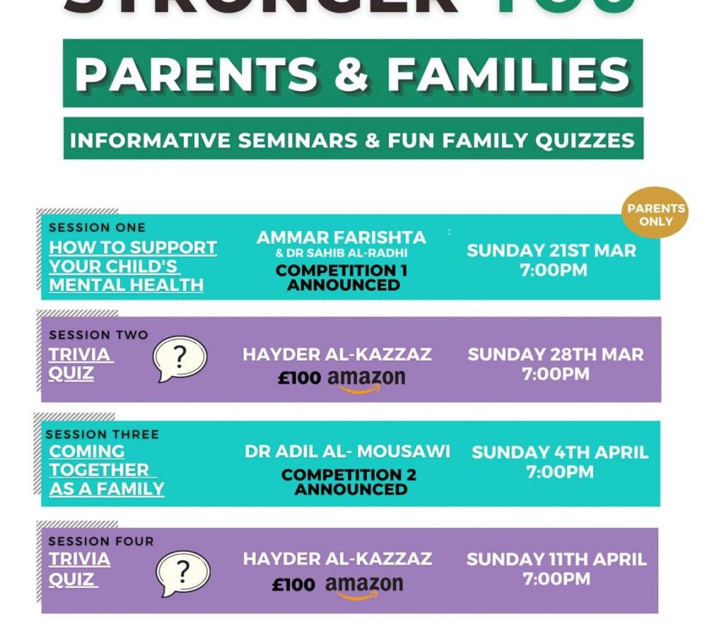 Informative Seminars & Fun Family Quizzes