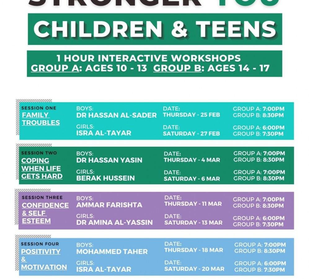 Interactive Workshops for Children & Teens